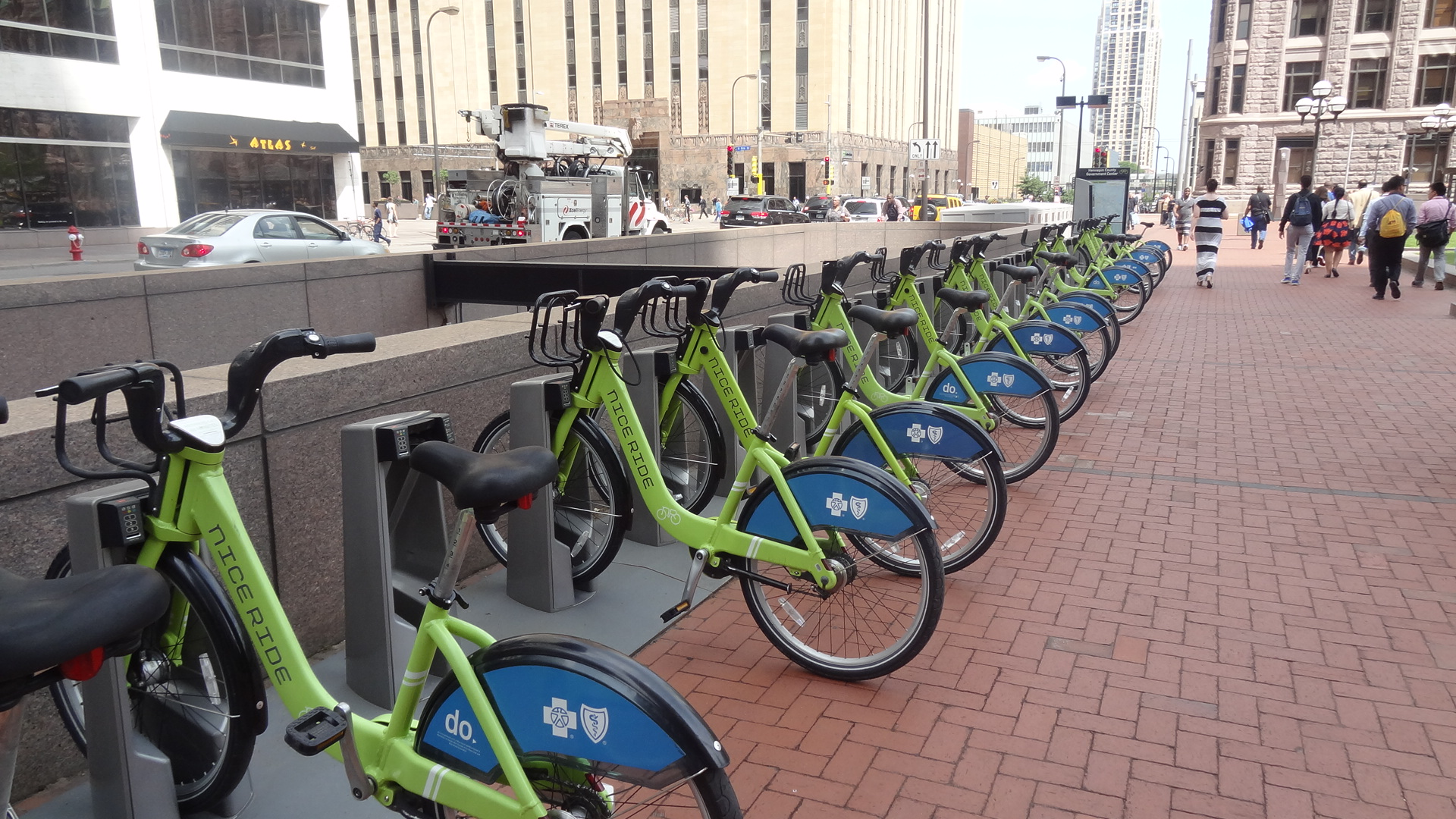 Nice Ride MN Hubway at Government Plaza Hall