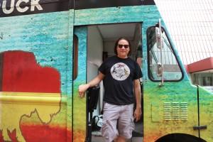 Chef Sean Sherman, owner of the Tatanka Truck.