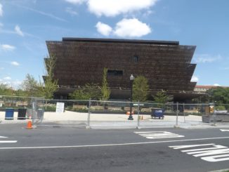 The African-American History and Culture Museum is in the heart of D.C. tourism.